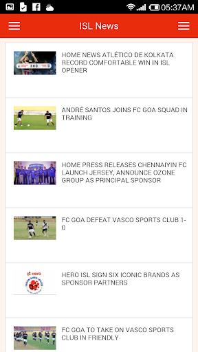 Indian Football News