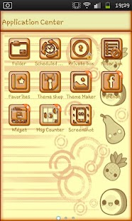 Cutie Tutti Go SMS Pro- screenshot thumbnail