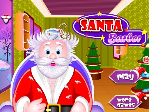 理发沙龙圣诞节游戏