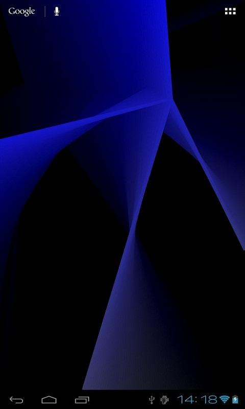 Abstract Live Wallpaper Lite- screenshot