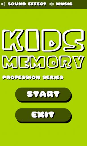 Kids Memory Profession Series