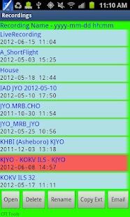 CFI Tools Flight Recorder- screenshot thumbnail