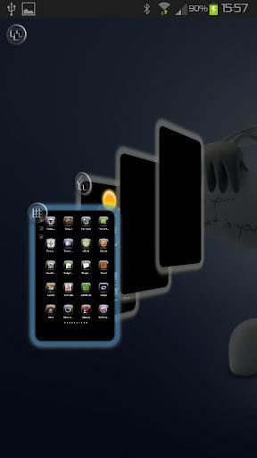 TSF Shell Theme Super Glass v1.5.1 APK
