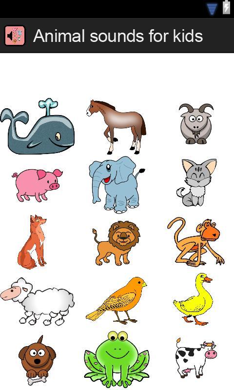 Sonidos de animales para niños - Aplicaciones Android en Google Play