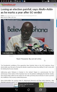 Ghana Radio Stations & News- screenshot thumbnail