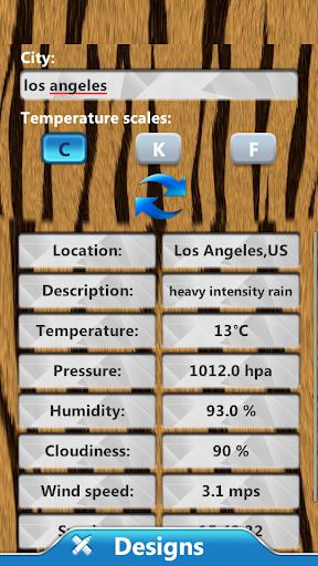 動物时钟和天气小工具