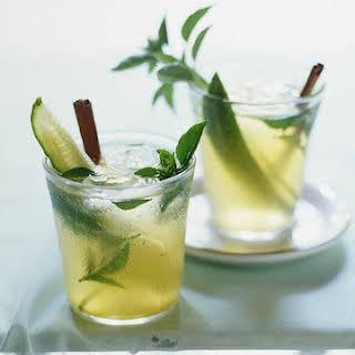 Lillet-Basil Cocktail.