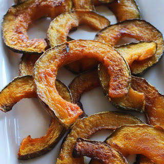 Kabocha Squash Fries With Spicy Greek Yogurt Sriracha.