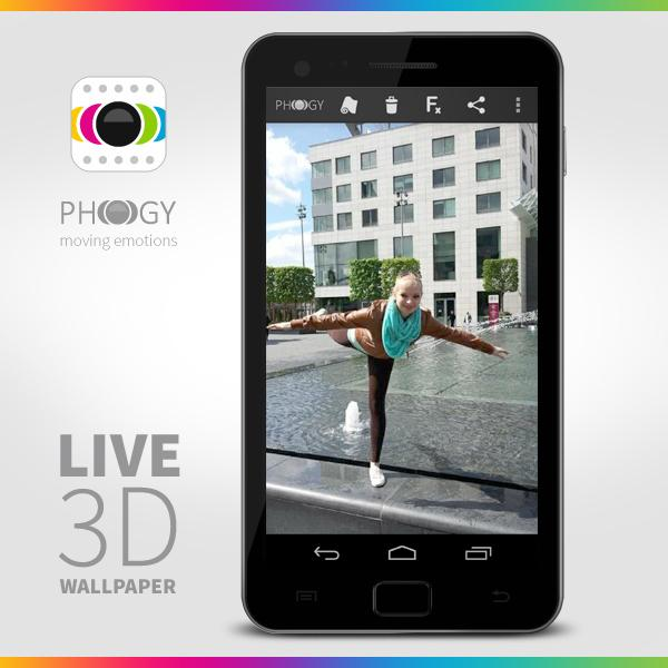 Phogy, 3D Camera - screenshot
