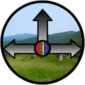Sami Hiking Compass