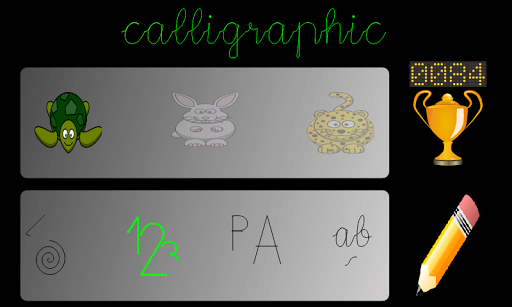 Caligráfico Demo
