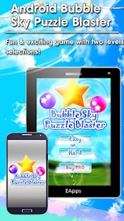 Android Bubble Sky Blaster - screenshot thumbnail