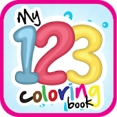 My 123 Coloring Book -Fun Game