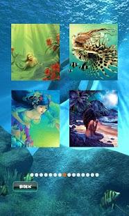 Mermaid Puzzle - náhled