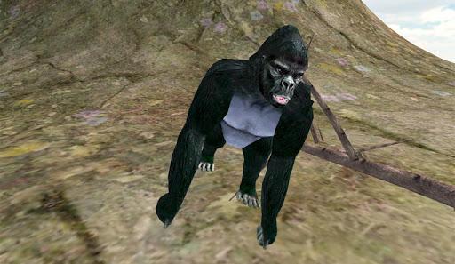 大猩猩橫衝直撞