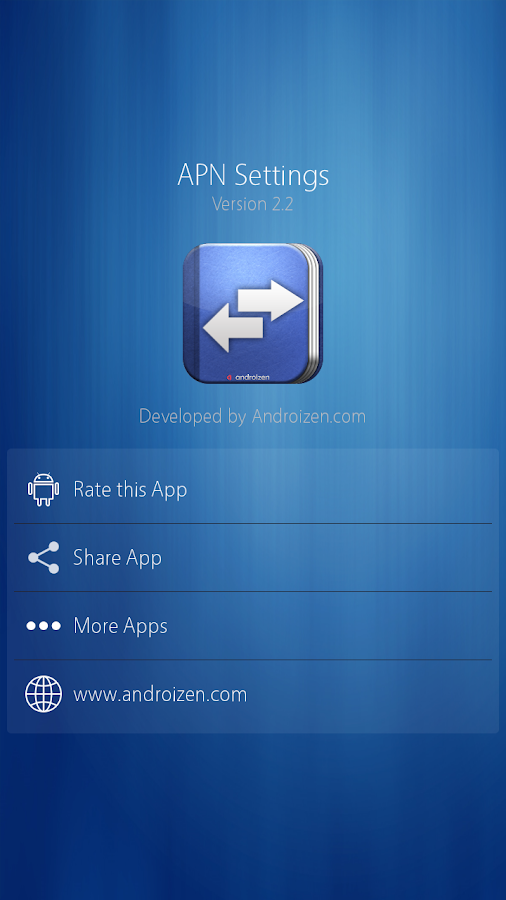 Apn manager app for android