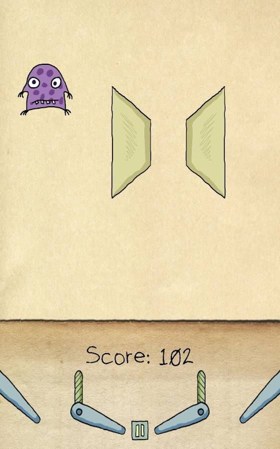 Paper Pinball HD- screenshot
