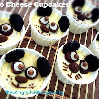 Oreo Cheese Cupcakes