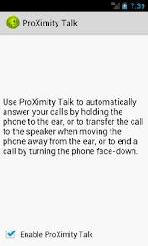 ProXimity Talk Screenshot 1