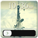 Abstract Eiffel Tower GoLocker icon