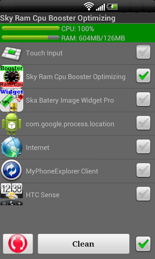 Sky Ram Cpu Booster Optimizing