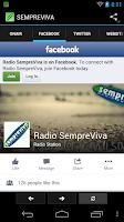 Screenshot of Radio SempreViva
