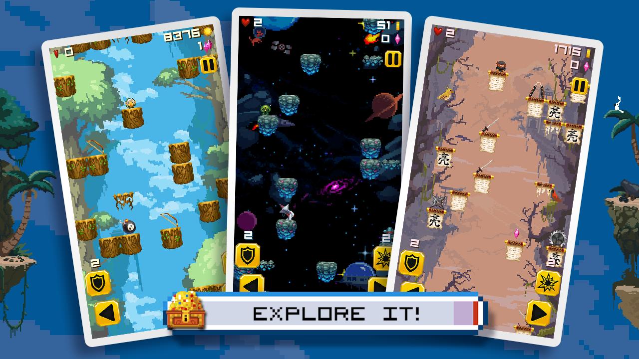 Mega Drop : Epic Jump Rush - screenshot