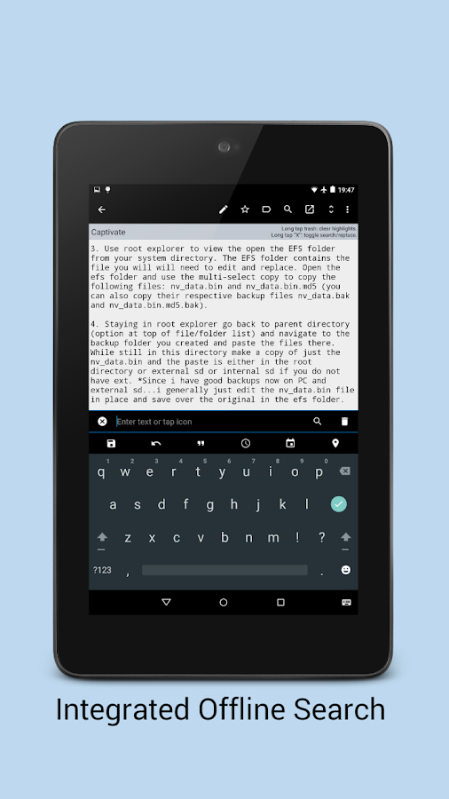 Minutes Text Notes Pro + Sync - screenshot