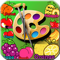 Baby Coloring Book Fruit icon