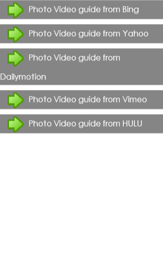 Photo Video guide