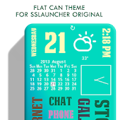 Flat Can Theme ssLauncher OR