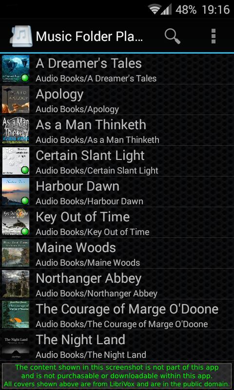 Music Folder Player Full- screenshot