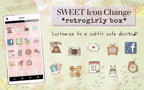 SweetIconChange*retrogirlybox*- screenshot thumbnail