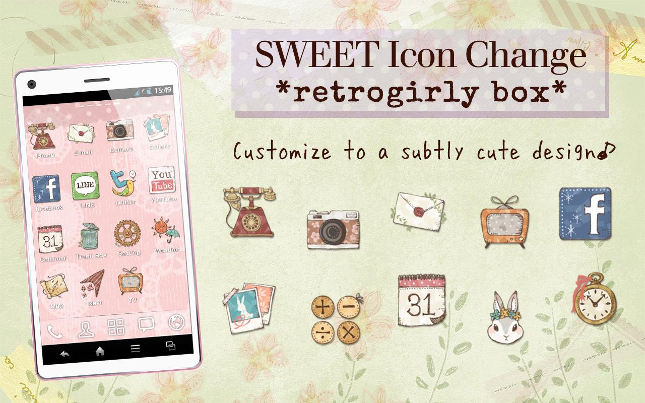SweetIconChange*retrogirlybox*- screenshot