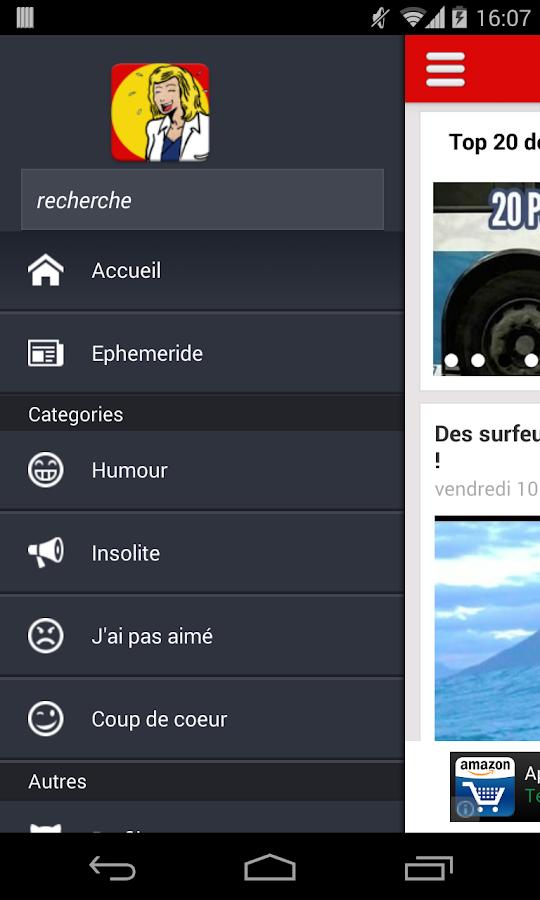 Humour, Gag, Espace Détente - screenshot