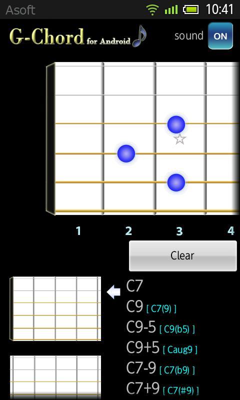 GChord  (Guitar Chord) No Ads- screenshot