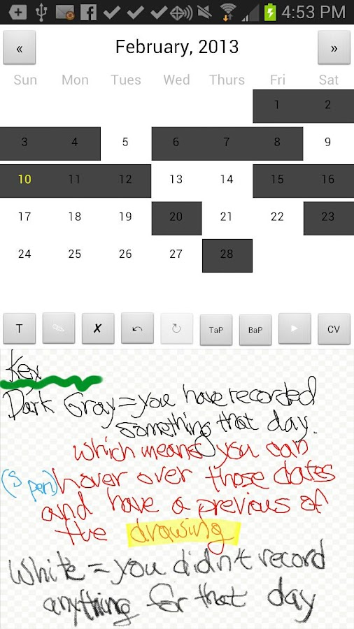Fit Tight Planner (S Pen GN) - screenshot