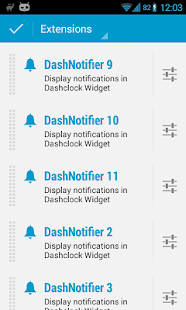 DashNotifier for DashClock- screenshot thumbnail