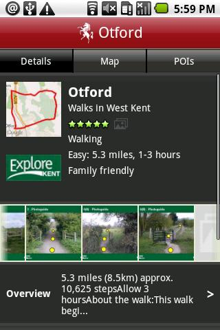 Explore Kent - screenshot