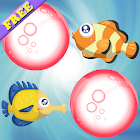 Peixes jogo memória crianças icon