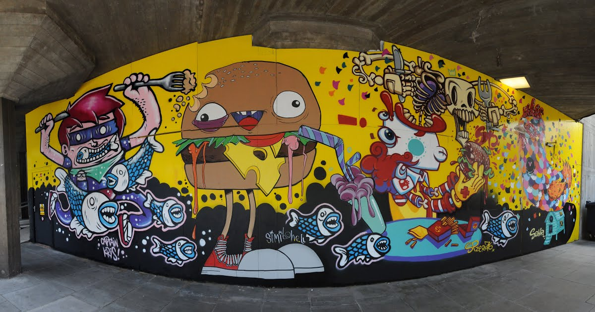 Southbank Centre Murals - Global Street Art Foundation — Google ...
