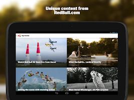 Screenshot of RedBull.com