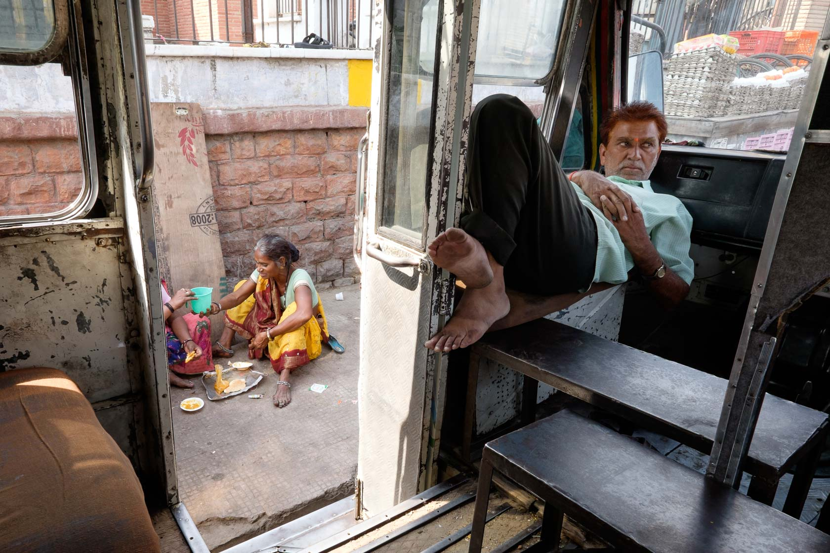 Local Transportation, Jaipur, India