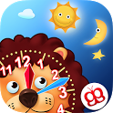 Interactive Telling Time HD icon