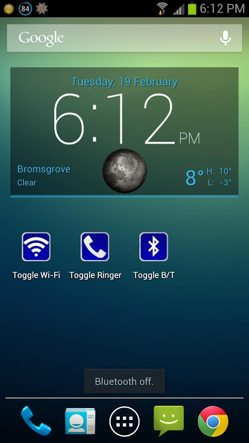 Toggle Bluetooth - screenshot