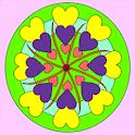 Mandala Coloring Book logo
