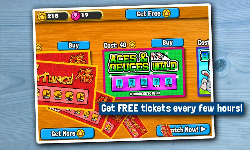 Scratch Tickets - screenshot