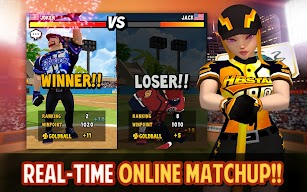 Homerun Battle 2 screenshot for Android