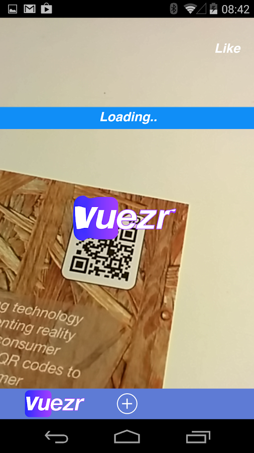 Vuezr- screenshot
