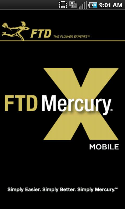 FTD Mercury Mobile - screenshot